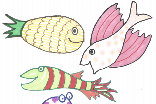 5 Doodle Fish thumbnail