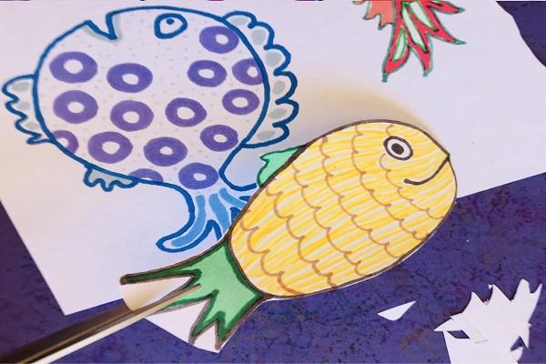 Doodle Crazy Fish thumbnail