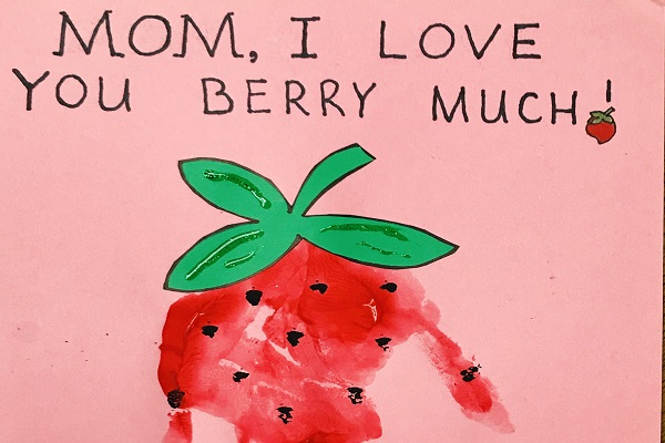 Painted Strawberry I Love You Berry Much thumbnail