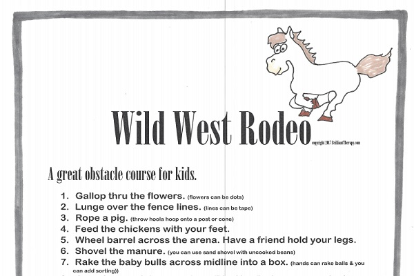 Wild West Rodeo Obstacle Course thumbnail