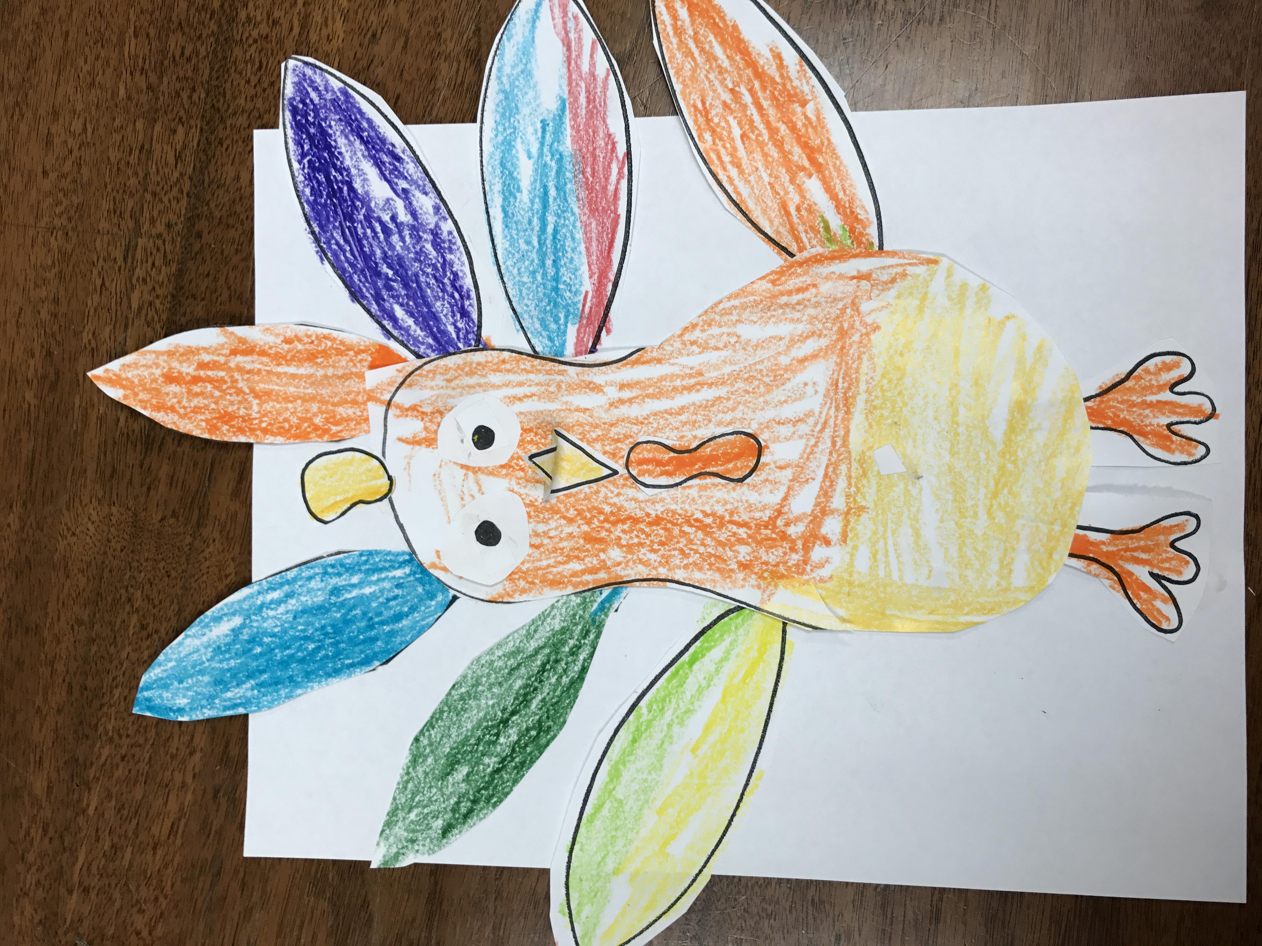 Complete paper turkey