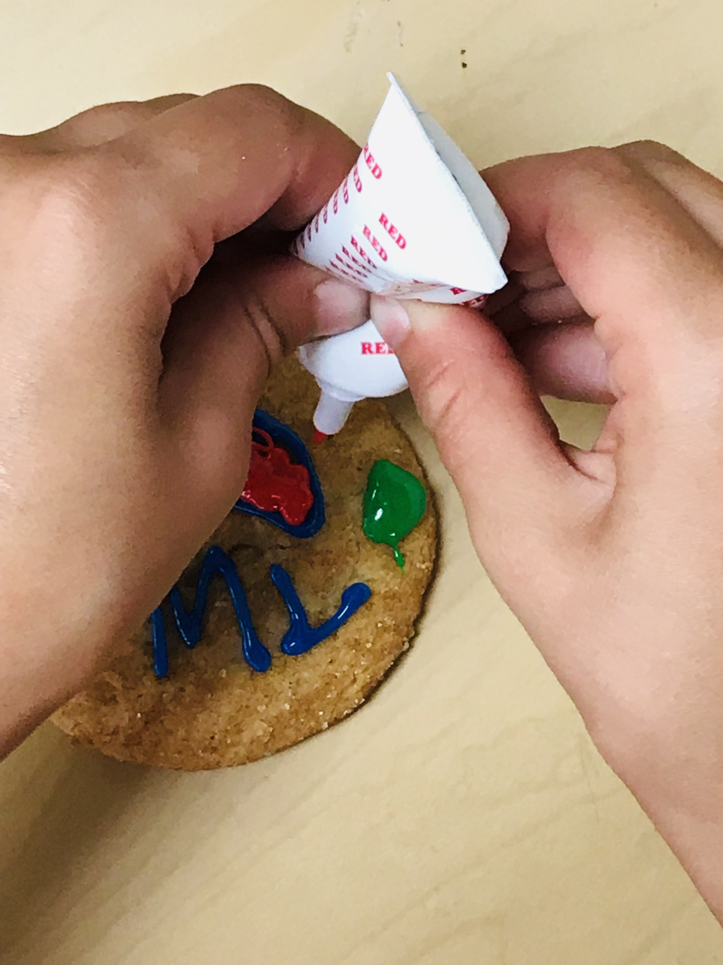 Frosting cookie
