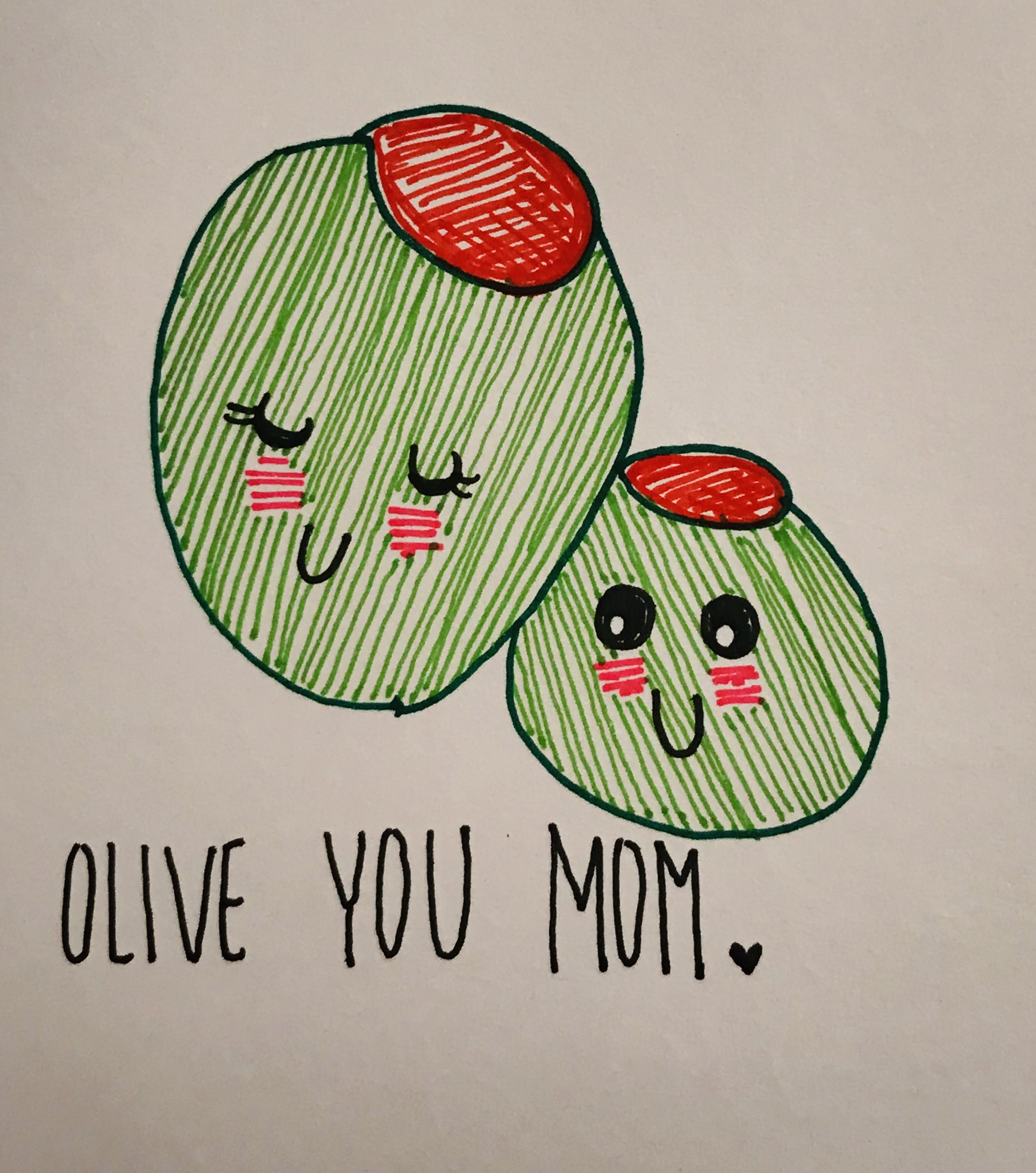 Olive You Directed Draw complete
