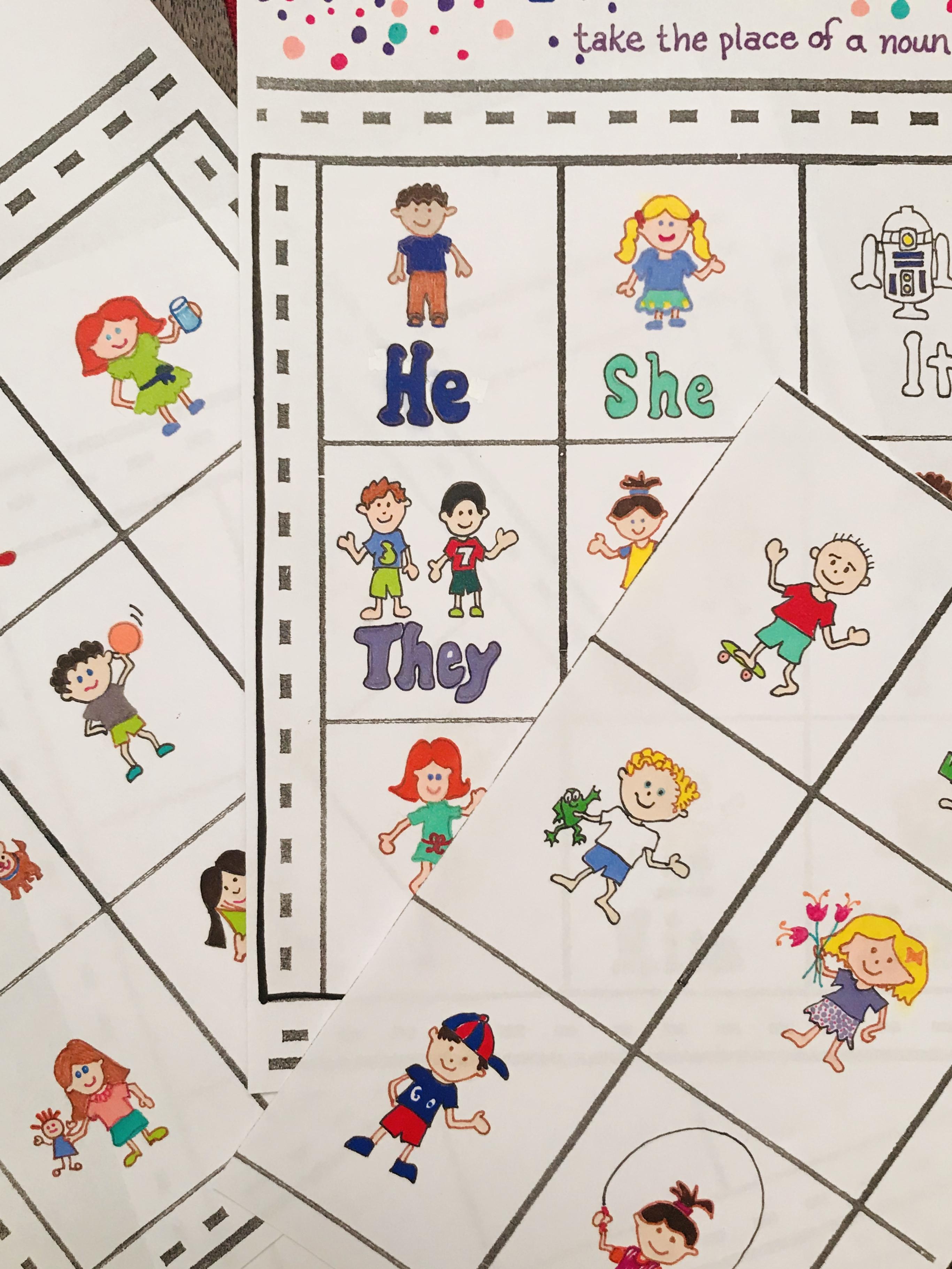 Vision Bingo sheets