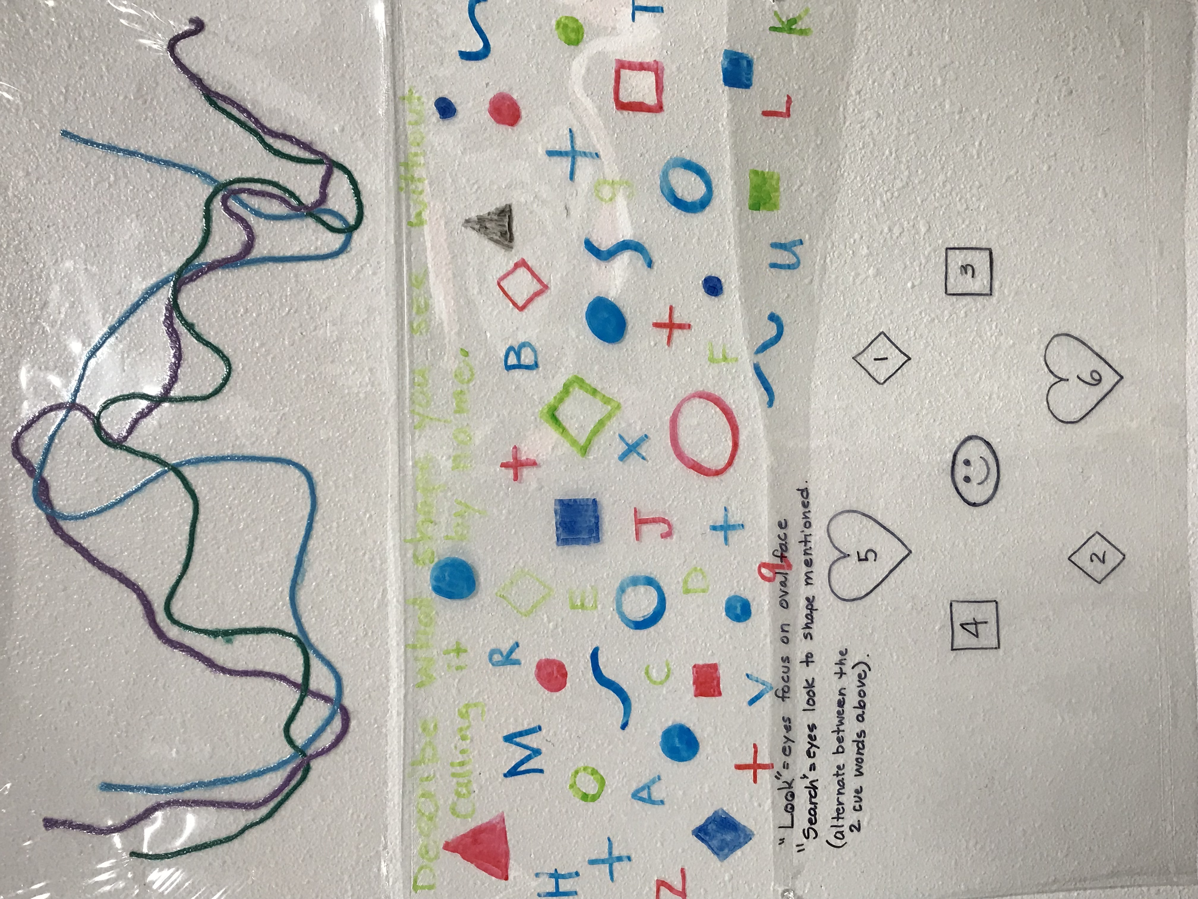 Visual Sort Symbols sheet