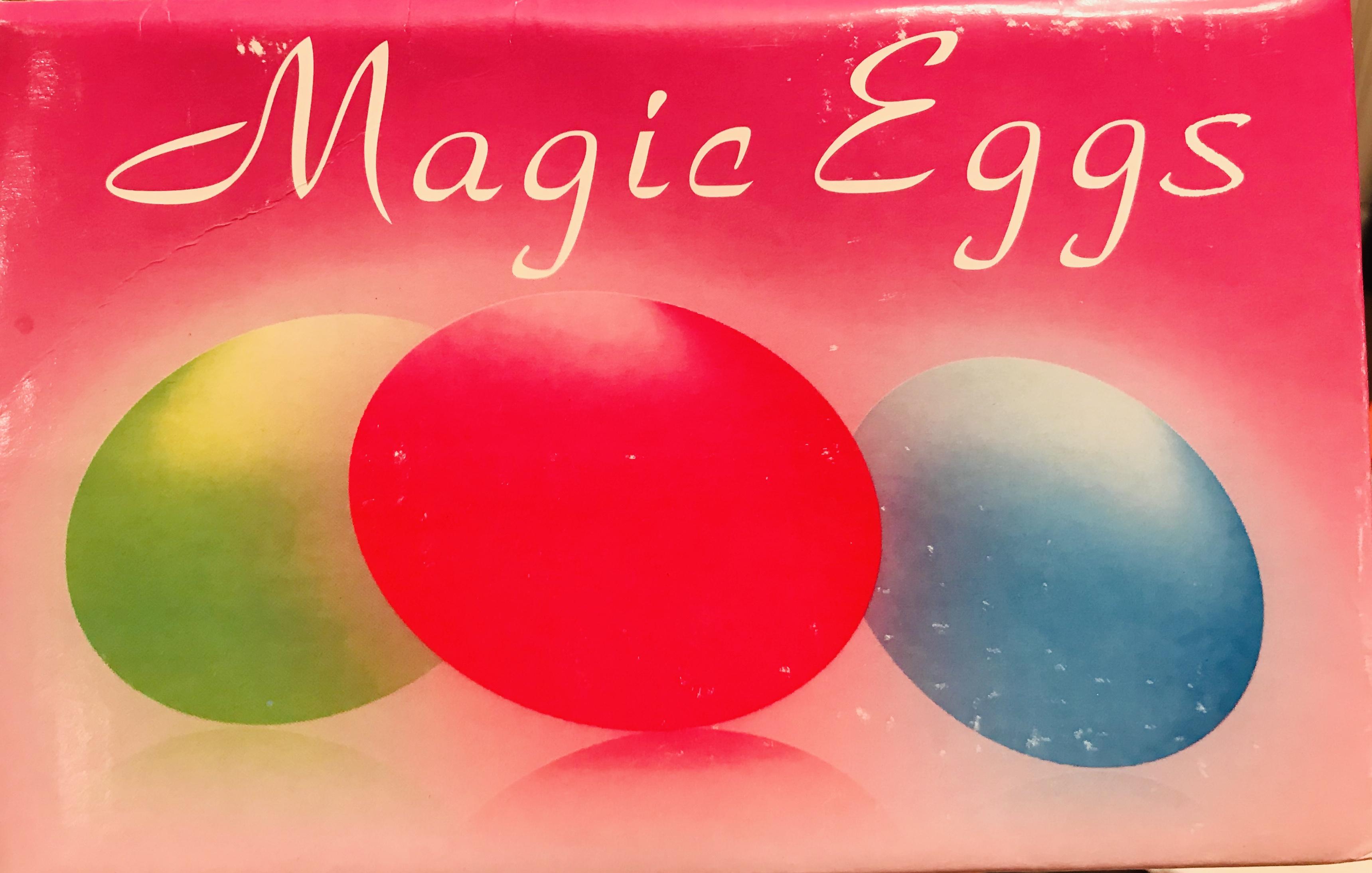 Magic eggs illustration