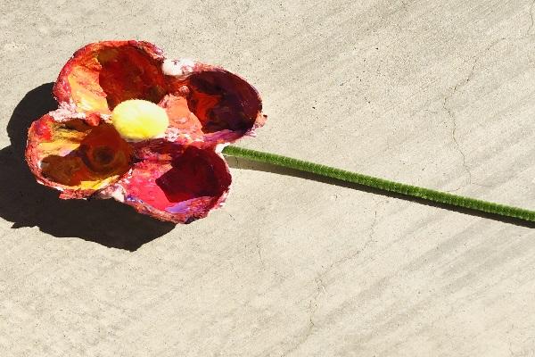 Egg Carton Flower thumbnail