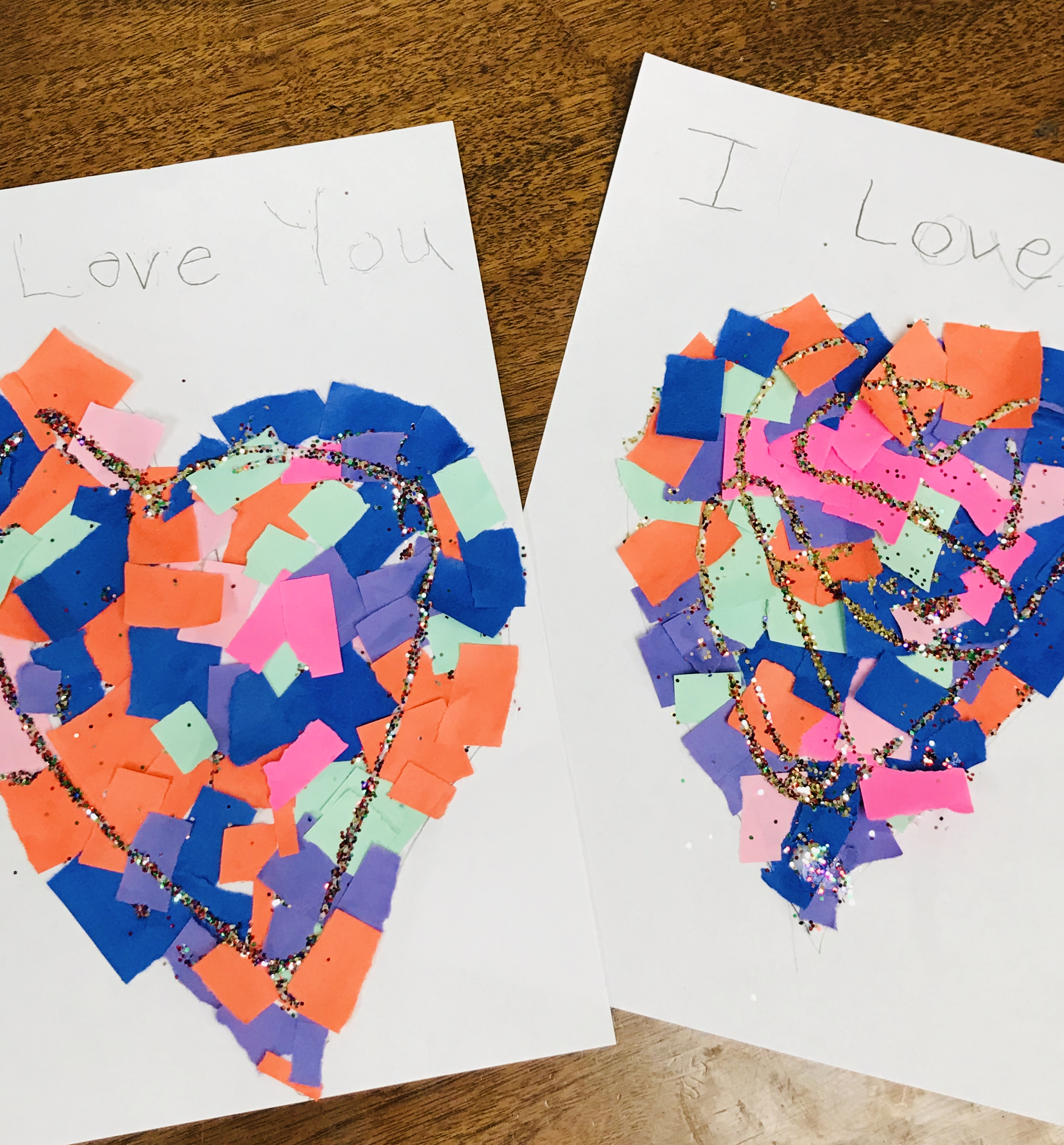 Two I Love You To Pieces projects