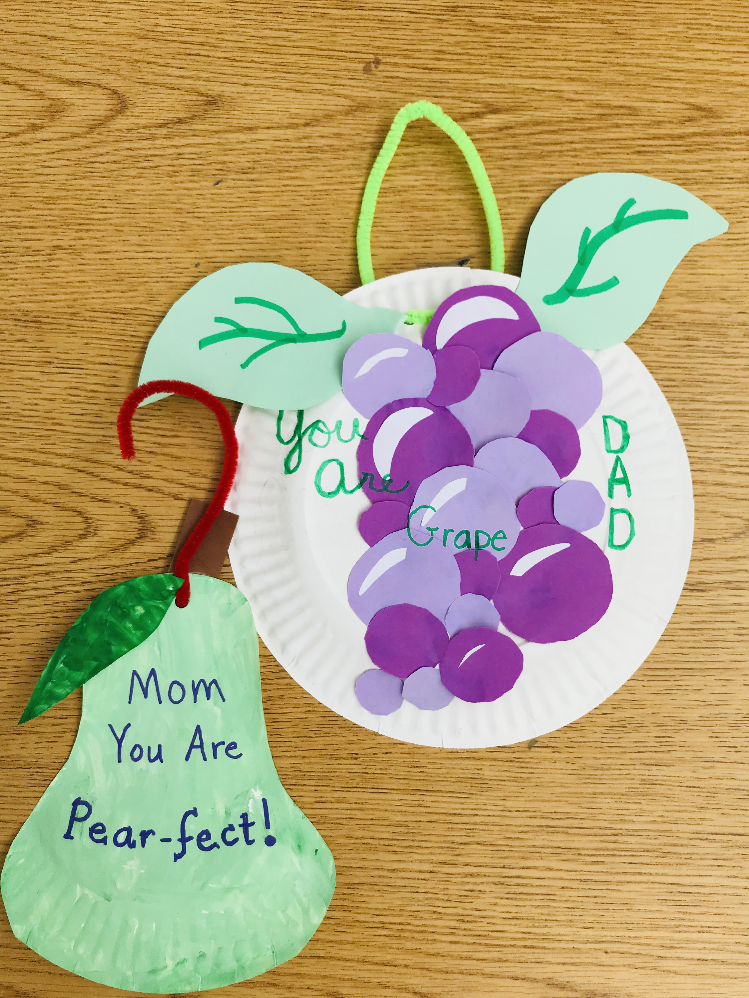 U Are Pear-fect and You Are Grape projects