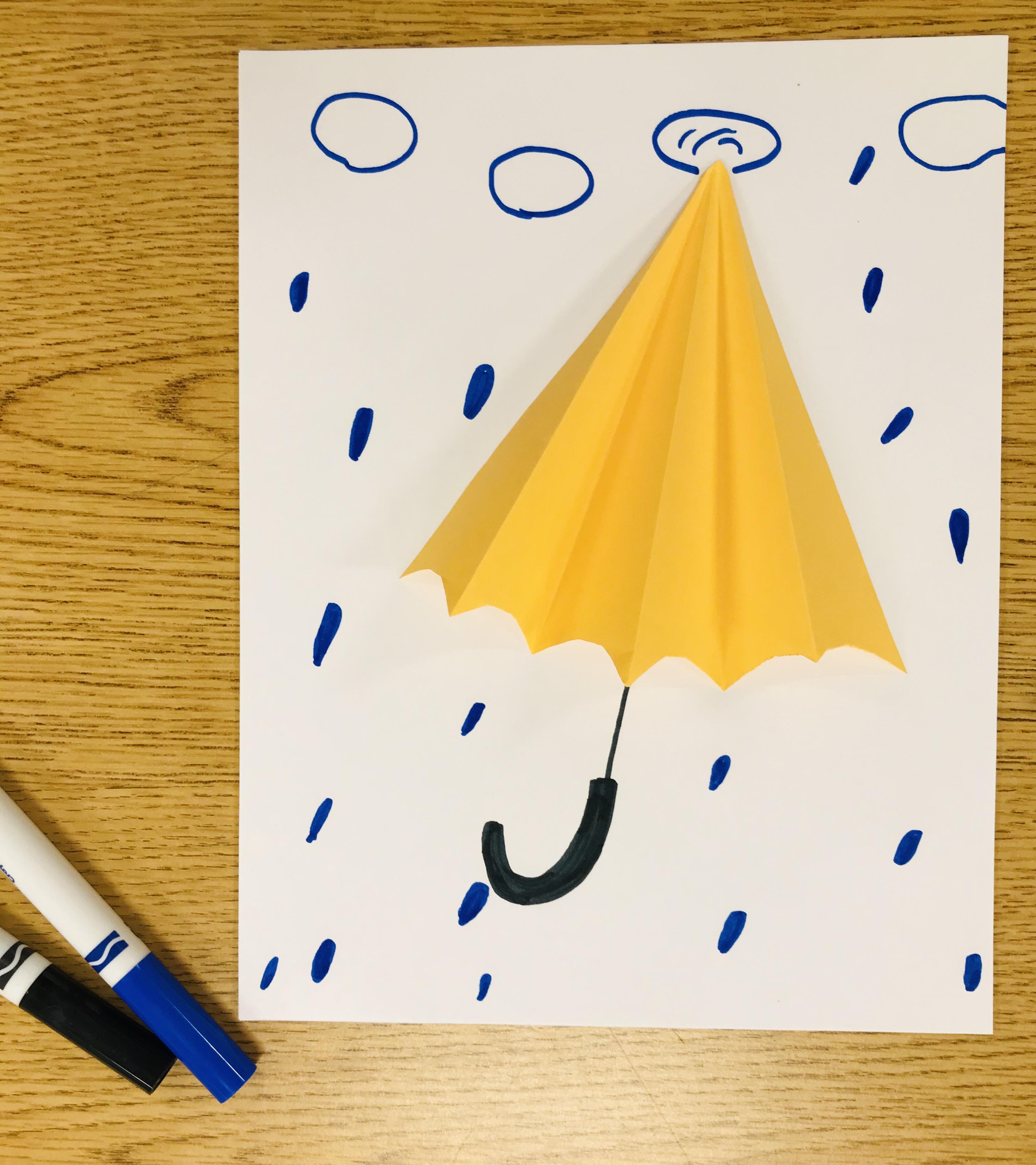 Complete 3D umbrella picture
