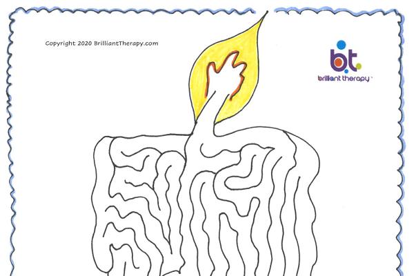 candle-maze
