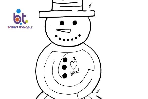 snowman-maze