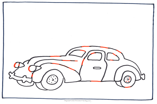 complete the car