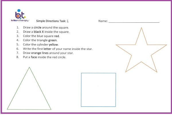 simple directions 1